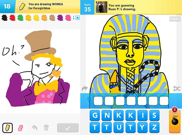 draw something gameplay