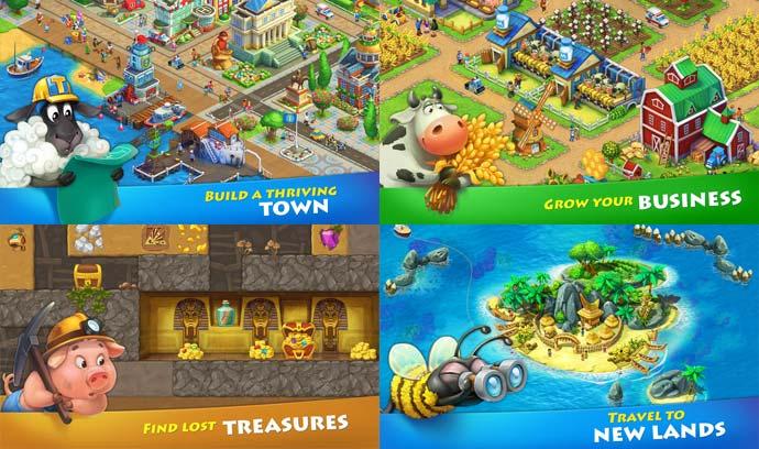 township screenshots