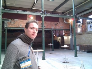 Øredev - not the plushest conference venue