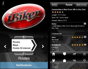 iBikerScreen