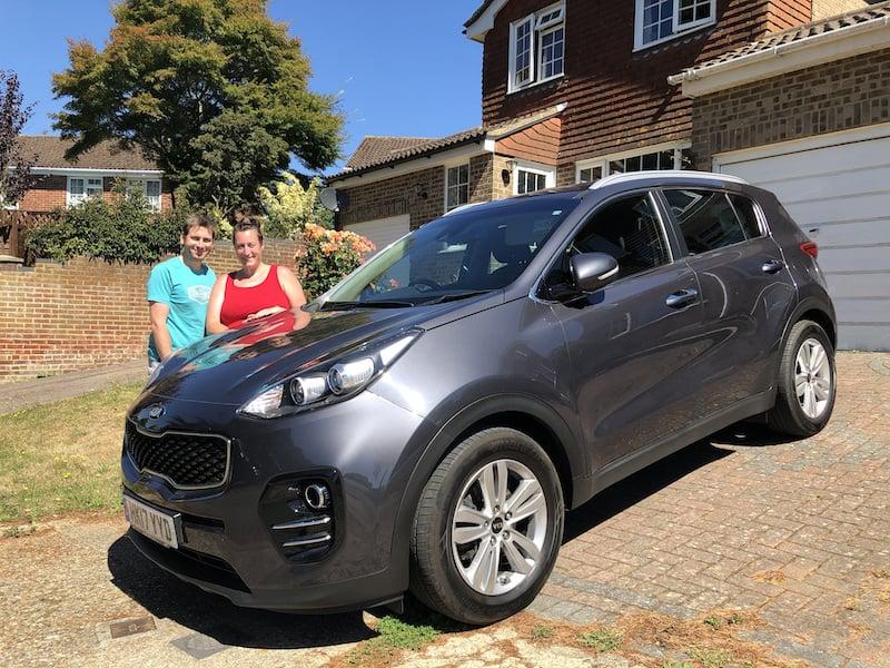 Jacs&Gary New Car